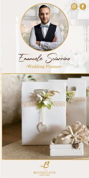 Emanuele Sciarrino | Nozze in Città | Il Magazine | Un Matrimonio perfetto